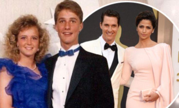 Matthew Mcconaughey Gets Oscar Congrats With High School Prom Photo C Lebs Prom Photos