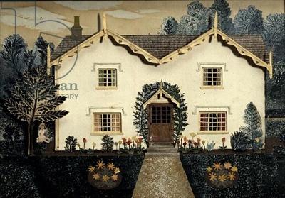 """Villa at Walton-on-the-Naze"" by Tirzah Garwood, 1948 (collage)"