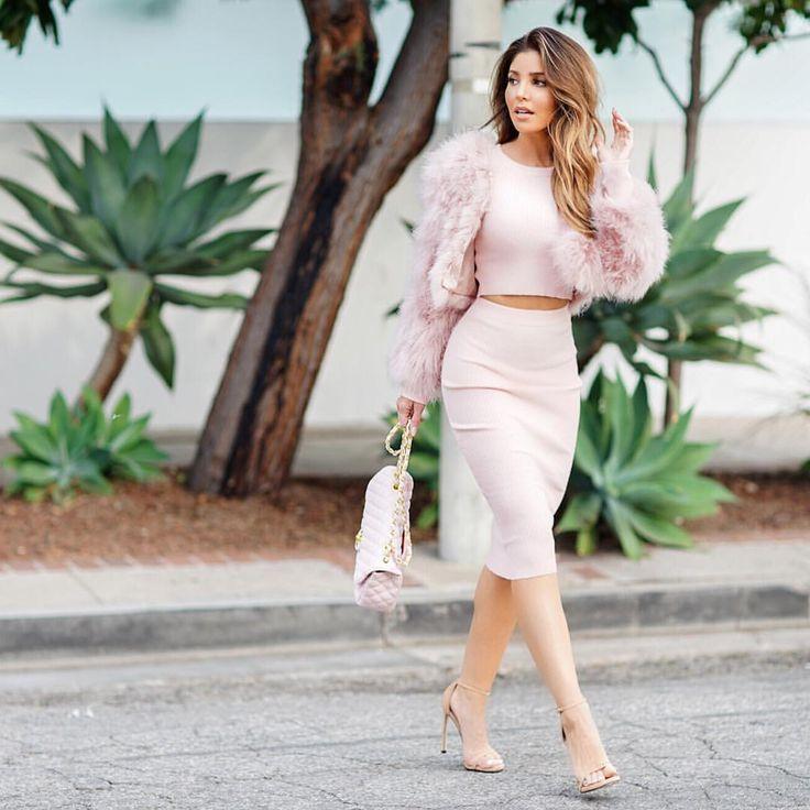 "Melissa Molinaro on Instagram: ""  Ana Knit Crop & Skirt   @mae.mm  @claireandersonphoto"""