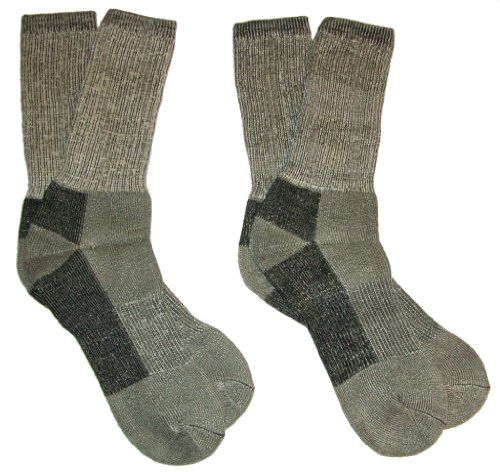 Riverstone Goods Men`s  Women`s Merino Wool Thermo Insulating Boot Socks, 2-Pack $12.99