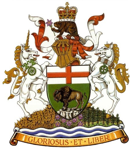 Coat of Arms of Manitoba.