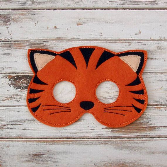 Hey, I found this really awesome Etsy listing at https://www.etsy.com/uk/listing/223212819/tiger-mask-felt-kids-mask-jungle-costume