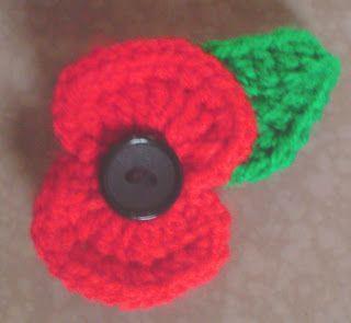 Crochet Poppy - Free Pattern