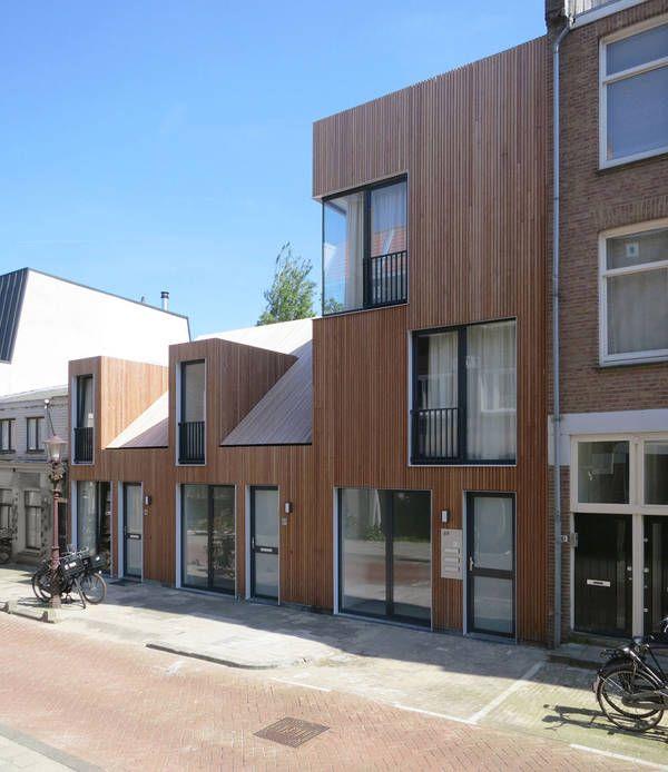 Infil terraces ( Amsterdam) by M3H architecten