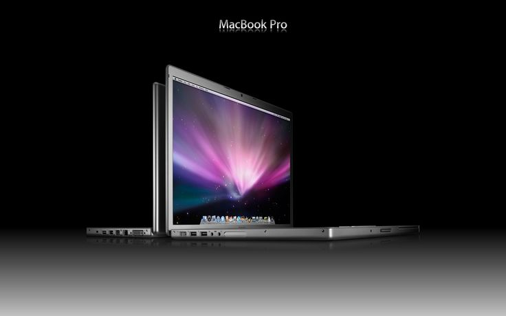 Those very pro looking MacBooks Pro.