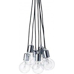 Gezien op Beslist.nl: Bloomingville hanglamp incl. 7 gloeilampen
