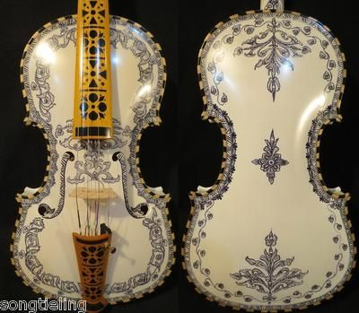 ?????deluxe Fancy Norwegian Fiddle 4/4 Violin (44) Of Profession Concert #7448