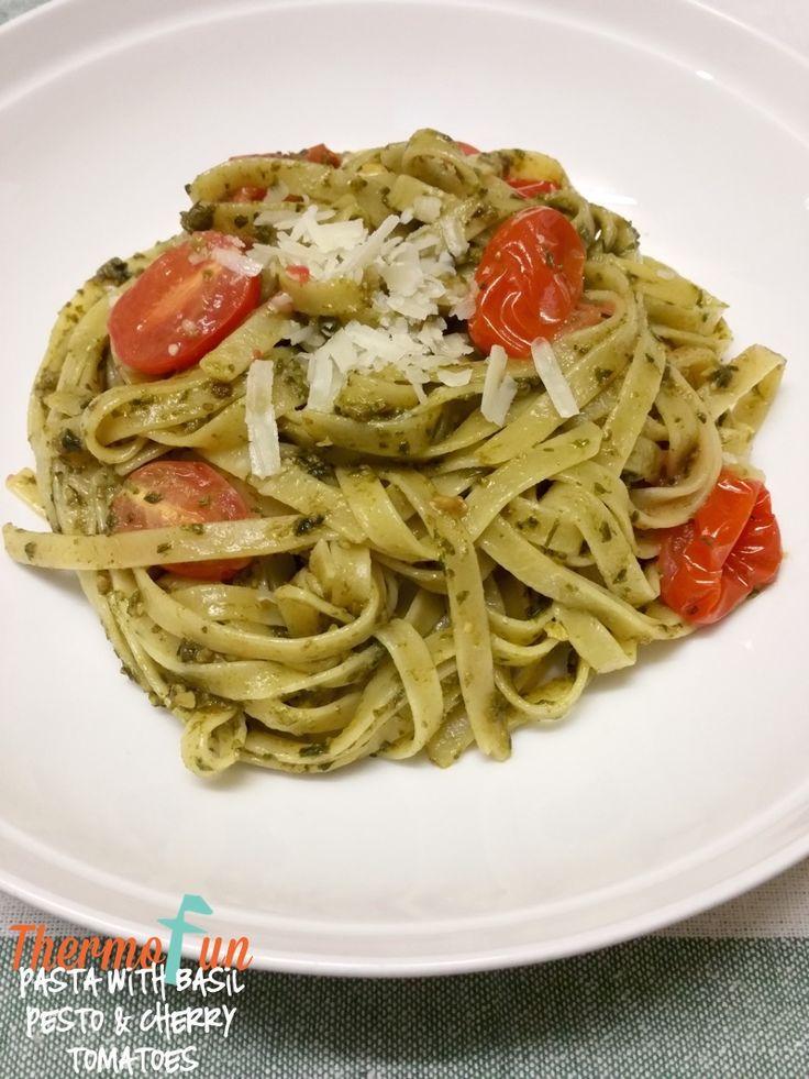 ThermoFun – Mad Monday – Basil Pesto & Cherry Tomato Pasta