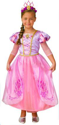 Rapunzel Butik Kostüm 4-6 Yaş