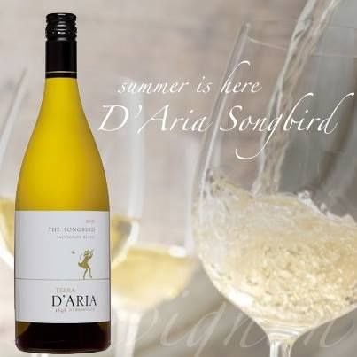 Our Songbird SauvBlanc - Combining aromas and flavours of green pepper, asparagus and gooseberries with tropical fruit and hints of grapefruit on the finish. Something special for the weekend. http://www.dariawinery.co.za