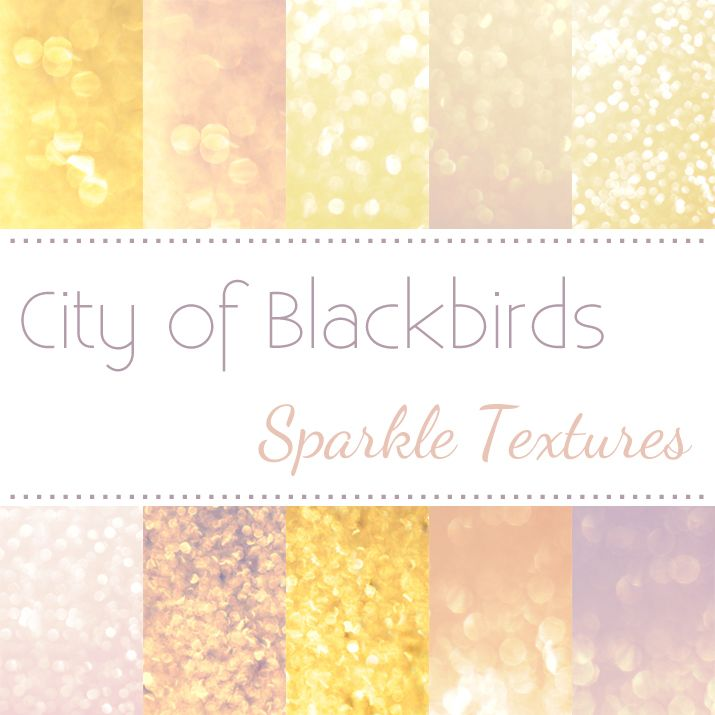 City of Blackbirds | Free Sparkle Texture Download