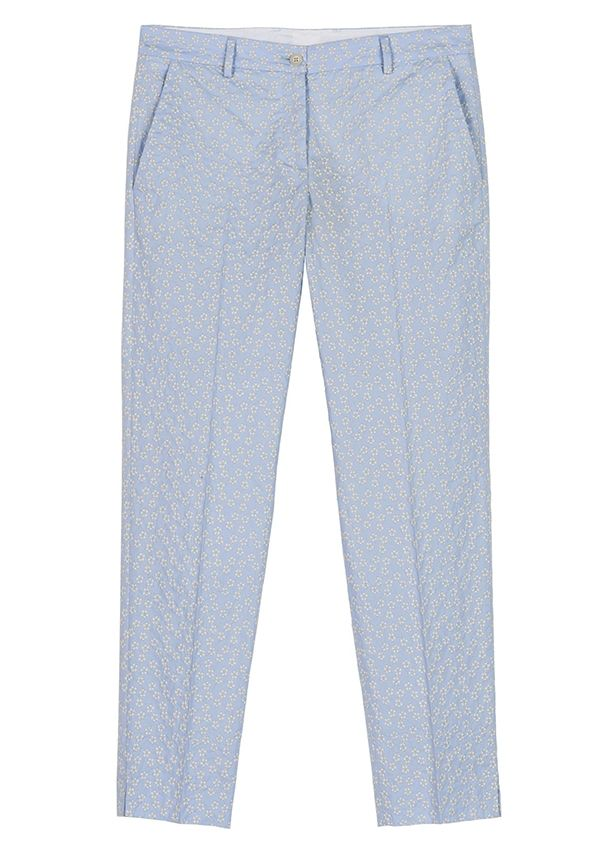 QL2 - PENELOPE COTTON EMBROIDERY STRAIGHT PANT  ( The duck's intelligence) #women's #fashion