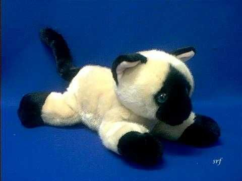 siamese cat plush stuffed animal jasmine aurora
