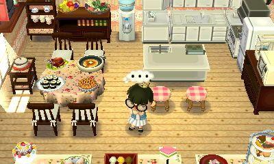 Acnew leaf Küchen gestaltung mit Kücheninsel und vieeel Essen