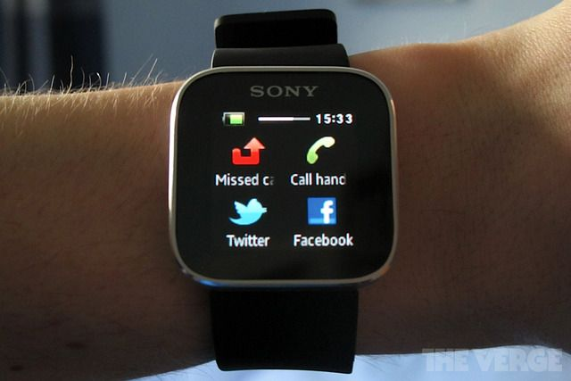Sony SmartWatch launches in US for $149.99.  I had This idea When i Phones came out