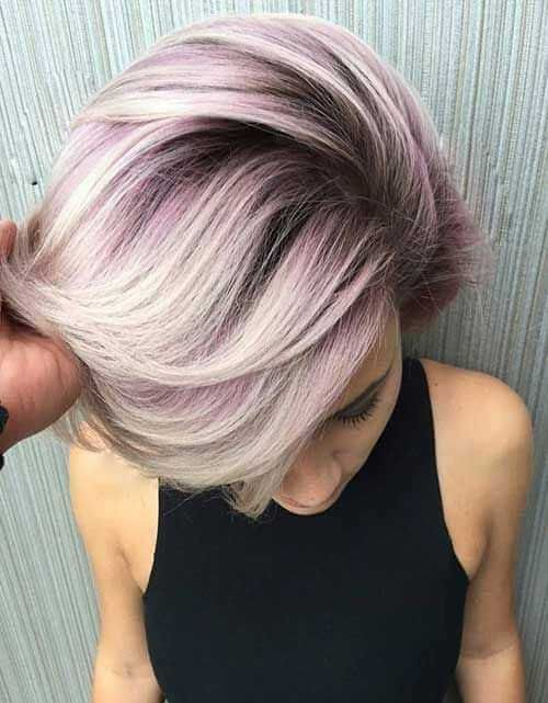 Short Hair Colors For Summer