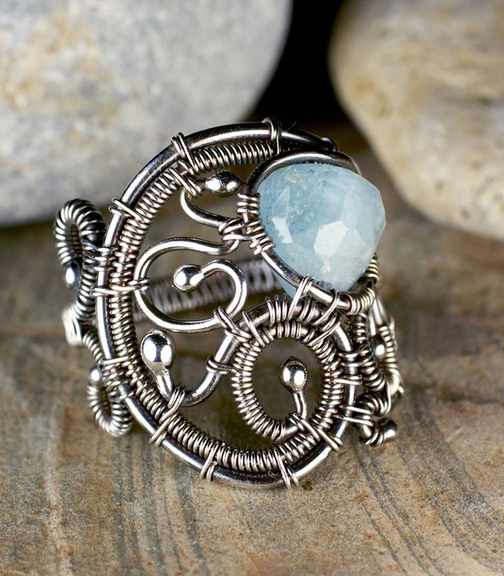 168 best Wire Wrapped Rings images on Pinterest | Wire wrapped ...