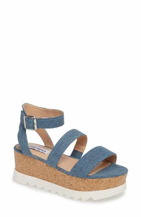 cc5f00cb23f Steve Madden Kirsten Layered Platform Sandal (Women)