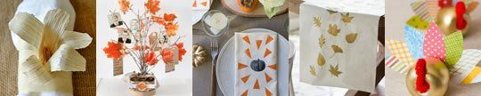 30 Last-Minute DIY Craft Projects for Thanksgiving Dinner