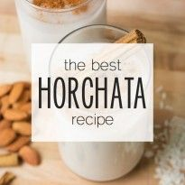 How to Make Authentic, Mexican Horchata
