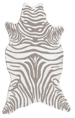 The Rug Market America Resort Collection 25258 zebra print/animal shape  area rug