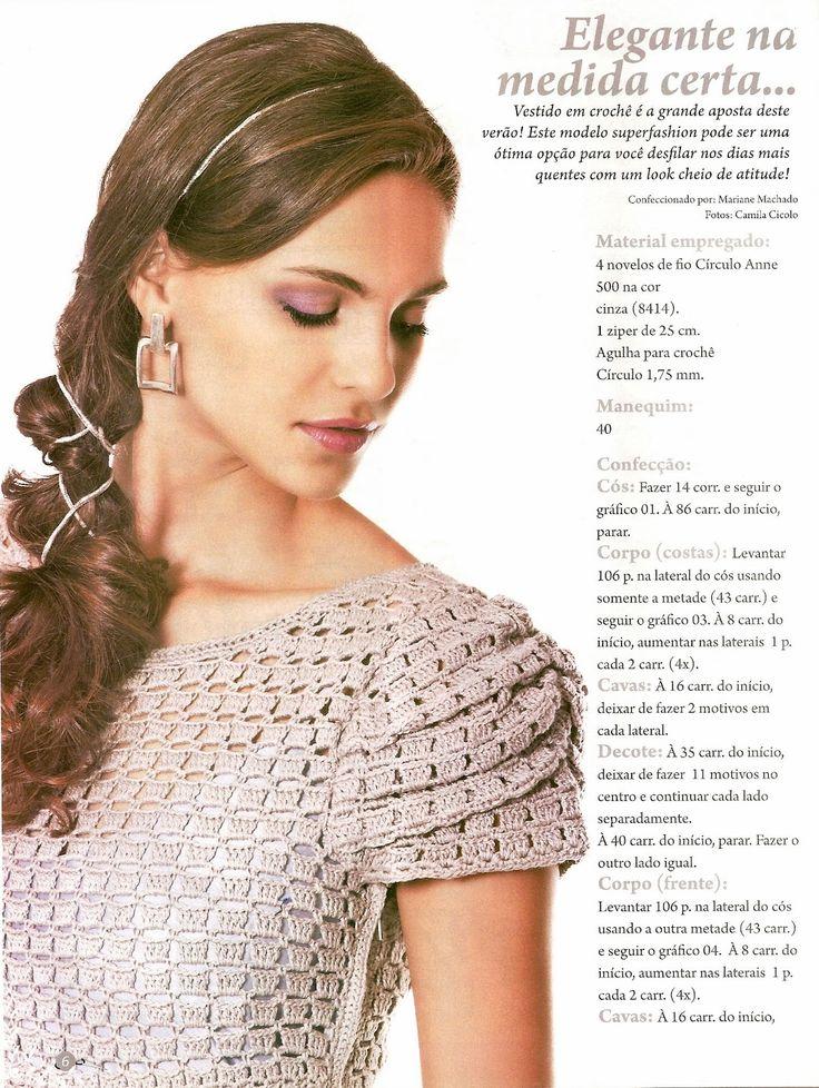 Crochet Dress, with interesting details