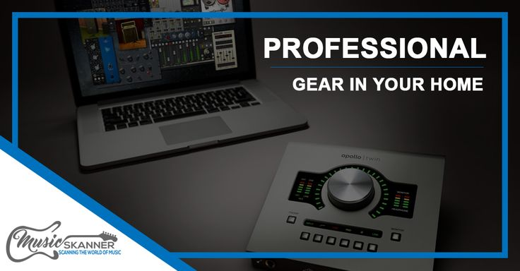 Best Audio Interface For Home Studio - Professional gear