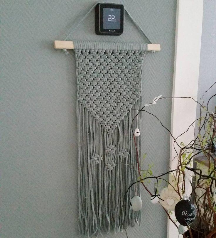 #kwantuminhuis Wandhanger MACRAME > https://www.kwantum.nl/wonen/wanddecoratie @x.melissanettekoven