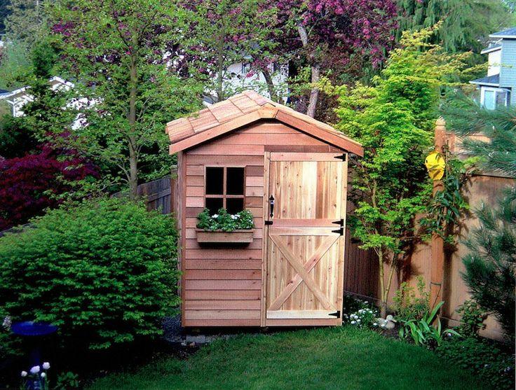 Gardener Cedar Wood Shed