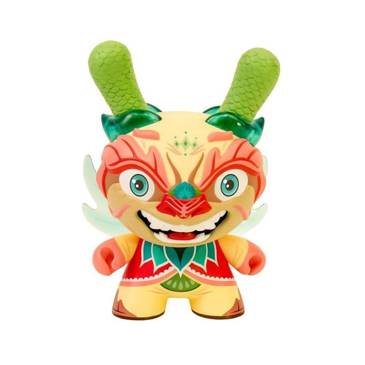 """IMPERIAL LOTUS DRAGON 8"""" DUNNY BY SCOTT TOLLESON"""