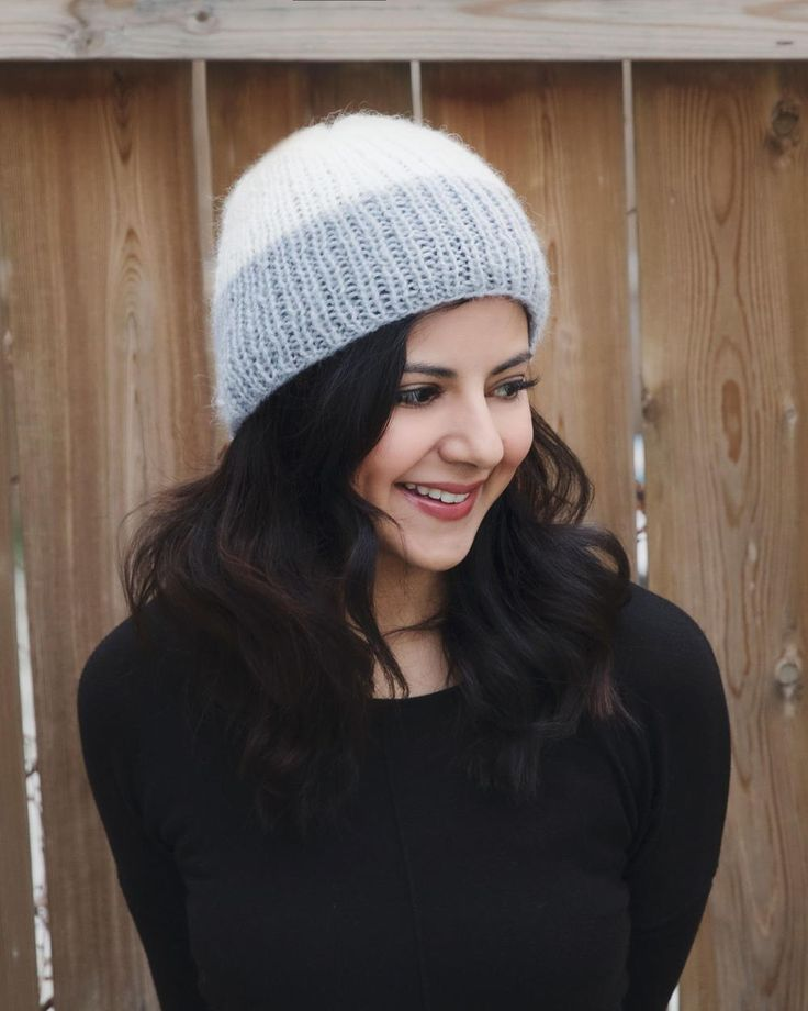 Reverie Ribbed Winter Hat | A lightweight knit hat pattern that won't ruin your hair!