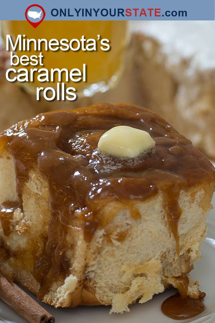 Travel | Minnesota | Caramel Rolls | Small Town | Recipe | Delicious | Food