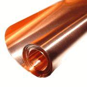 "copper sheet by roll $20 6"" X 24"" / 8 Mil"
