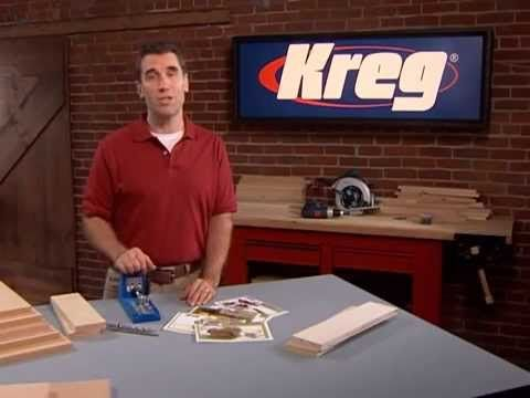 Kreg Tools Instructional DVD - watch this video too see how to attach a table top to the leg base using a kreg Jig.