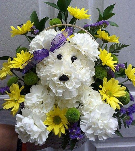 Puppy Bouquet 5