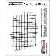 Darkroom Door Cling Mounted Rubber Texture Stamp - Mesh DDTS016