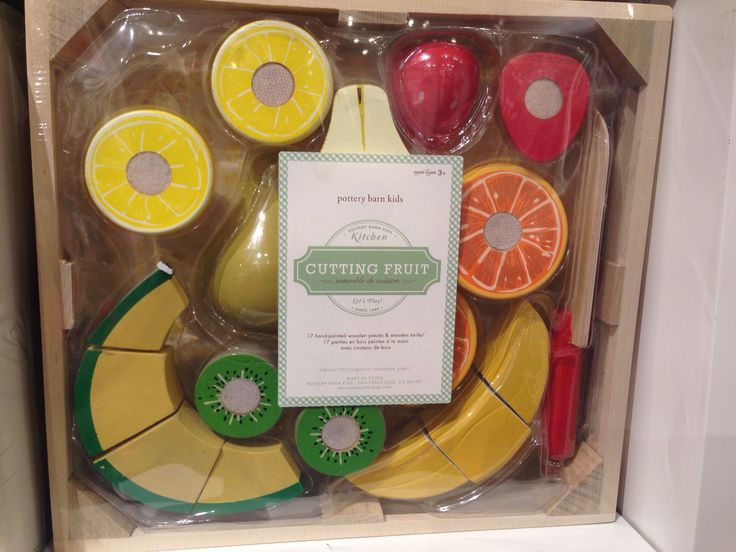 Pottery barn cutting fruit $29