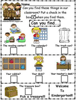 classroom scavenger hunt: Open House, Scavenger Hunts, School Year, School Ideas, Kindergarten, Teacher, Classroom Ideas