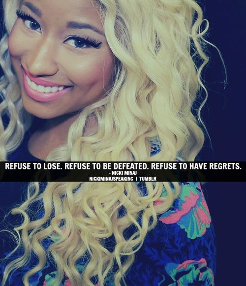 Quotes From Nicki Minaj Nicki Minaj Rap Quotes...