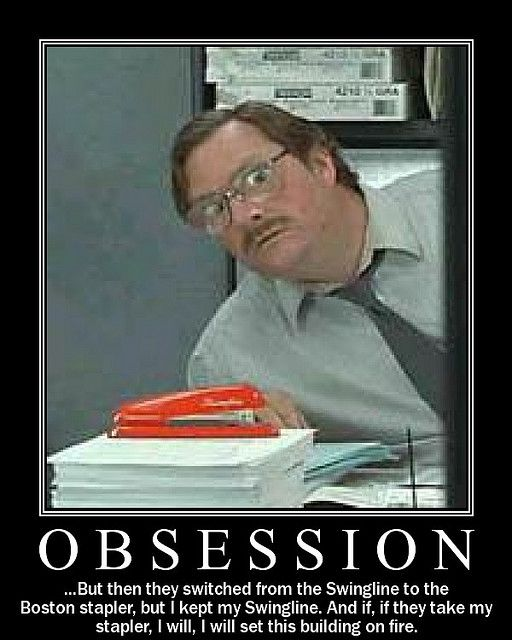 office space great. Milton From Office Space And His Red Swingline Stapler Great A