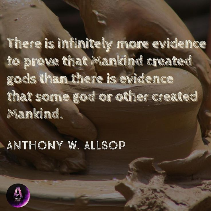 It's all about evidence.