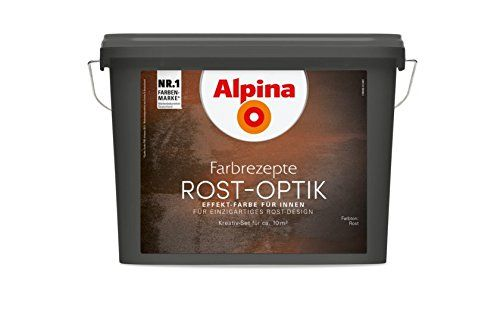 Alpina Farbrezepte Rostoptik bis 10m² Set Rost Optik Kreativ Effekt Rostfarbe alpina http://www.amazon.de/dp/B00B5ULH92/ref=cm_sw_r_pi_dp_ujvovb0ENAAEP