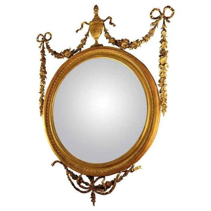 angol klasszicista tükör