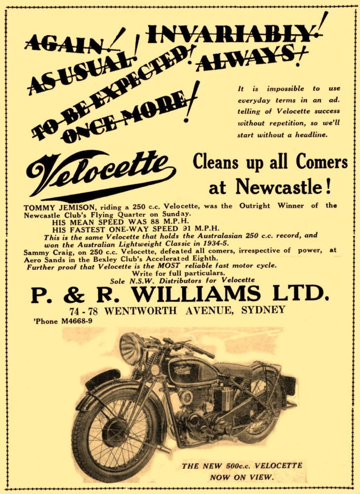 A fantastic collection of images taken from wonderful vintage Motorcycle ads dating from the late 1800's to the 1960's. Print out beautifully at A4 size or larger. Only $5.00 with delivery to your inbox within hours! Payment via Paypal. Check out the other amazing collections and choose any 4 for only $15.00! Many thanks for looking in, Greg:)