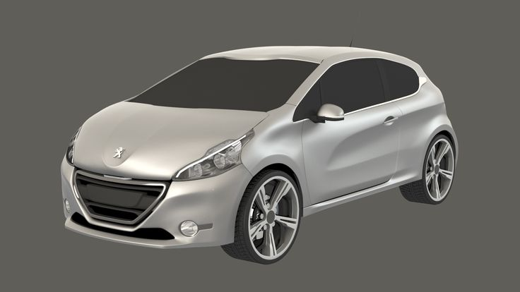 Peugeot 208. © William Pras 2015