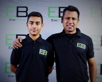 Eric Benny alongside Luv Kapoor.
