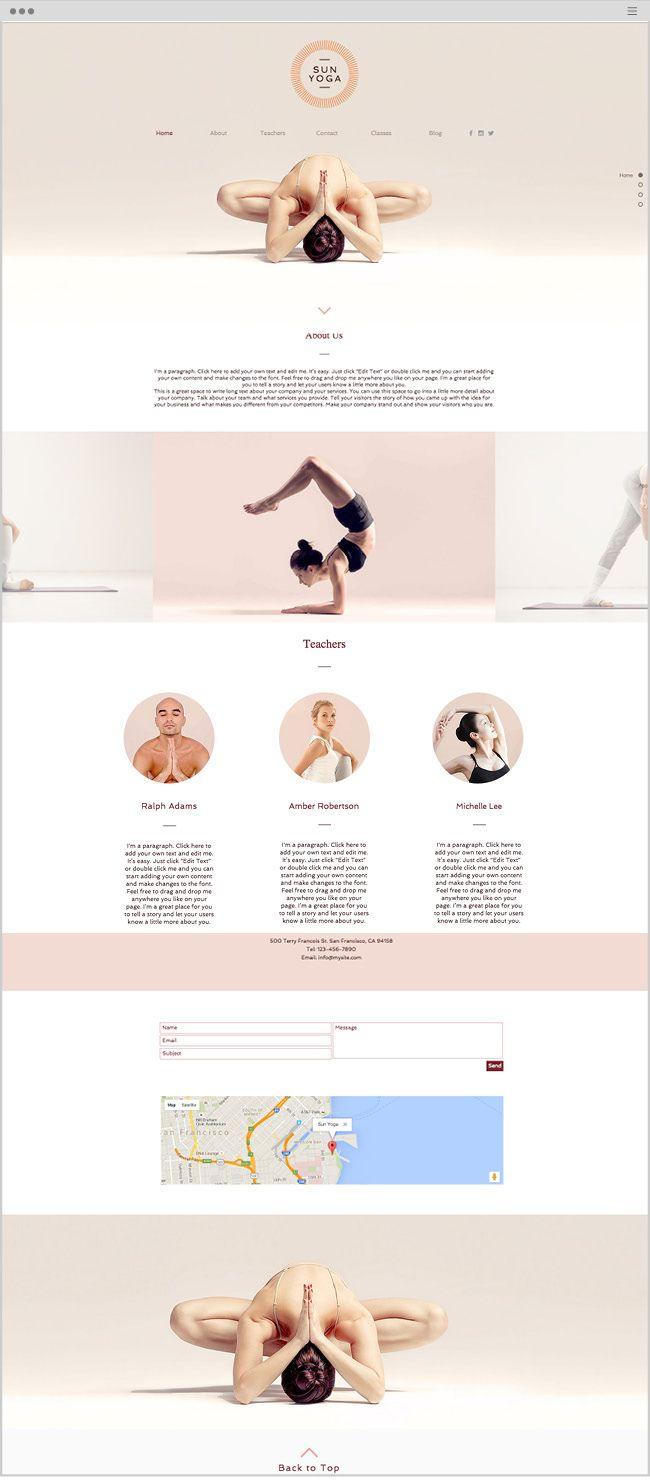 25 best ideas about website template on pinterest