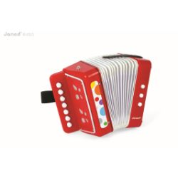 Give this to your child and soon your home will sound like a corner of some chic Parisienne Bistro… Alright - we may be being a little ambitious here, but this is a really well made instrument, and once mastered actually sounds really fantastic.  This is the perfect way of teaching children hand co-ordination, and is way up there with the fun factor.  Accordion - MySmallWorld.co.uk
