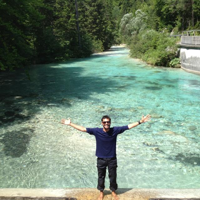 River in Slovenia