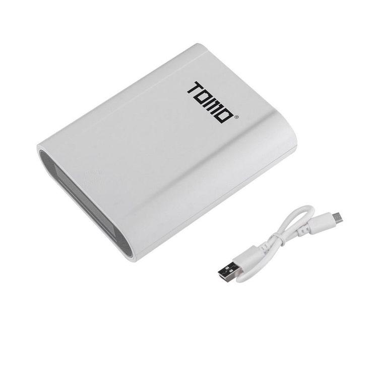 TOMO S4 4 x 18650 Li-ion Battery DIY Smart Power Bank Charger Case Diy Box with 3 Input Interface Sale - Banggood.com